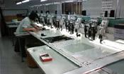 刺繍工場 作業風景